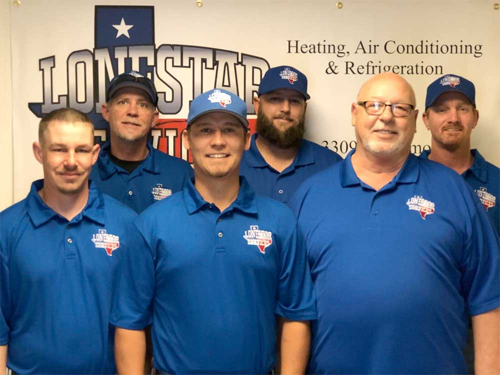 Lonestar Services HVAC Team